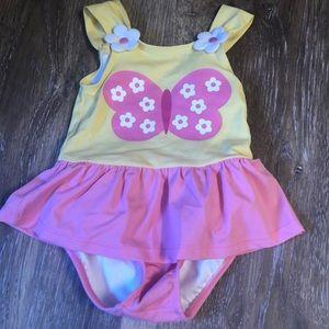 2T butterfly swimsuit